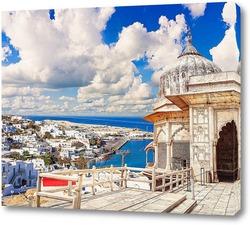 Постер Остров Миконос в Греции