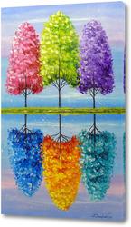 Картина Каждое дерево имеет свою яркую жизнь