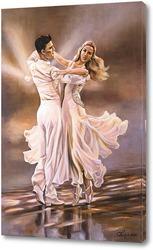 Постер Рисует вальс мелодию