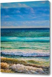 Постер Оттенки моря