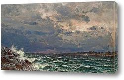 Постер Бурное море