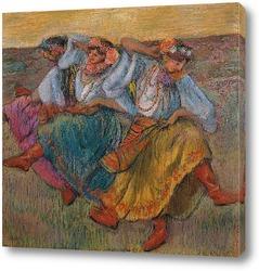 Картина Танцоры России, 1899