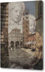 Постер Италия. Лукка.