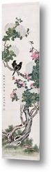Постер Птицы в настенном свитке
