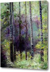Картина В темно-синем лесу...