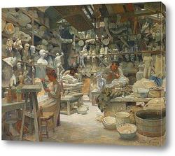 Картина Мастерская Скульпторов Sadaune, Париж 1901