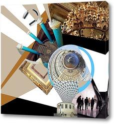 Постер Видение города