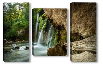 Модульная картина Водопад Джур-Джур