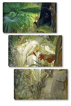 Модульная картина Нимфа любви, 1885