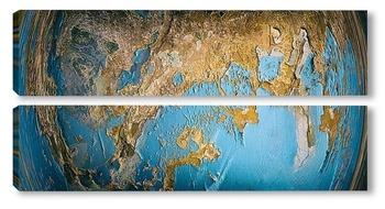 Модульная картина Земля!!!!