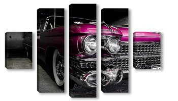 Модульная картина Cadillac