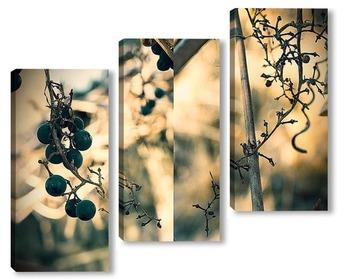 Модульная картина Некрасивая осень