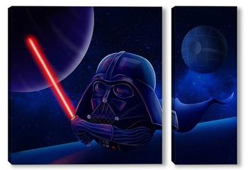 Модульная картина Дарт Вэйдер. Звездные войны