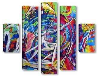 Модульная картина «Радуга растворений»