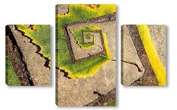 Модульная картина Лабиринт для муравья