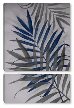 Модульная картина Тропические листья 2