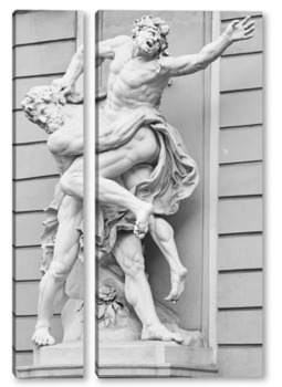 Модульная картина Скульптура