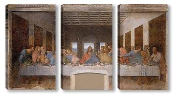 Модульная картина Тайная вечеря