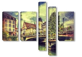 Страсбург,городской пейзаж
