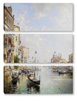 Модульная картина Гранд Канал, Венеция