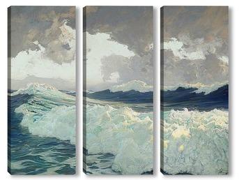 Модульная картина Океан