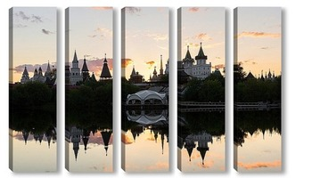 Модульная картина Измайловский кремль