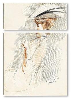 Модульная картина Невеста или Портрет Эмили