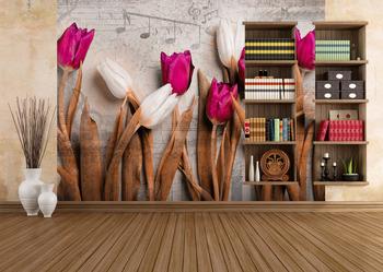 Фотообои Яркие тюльпаны